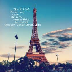 Eiffel Tower Paris Love Quote