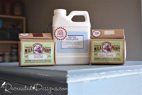 Old-fashioned-milk-paint-light-cream-barn-red