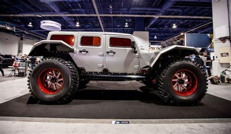 jeep wrangler batman fab fours legend concept visits jay leno s garage