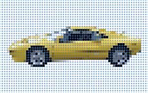 Pixel Art Voiture Facile : art r aliser du pixel art en 30 secondes avec illustrator ~ Maxctalentgroup.com Avis de Voitures