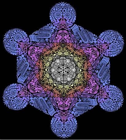 Cube Metatrons Metatron Fruit Wallpapersafari Sacred Geometry
