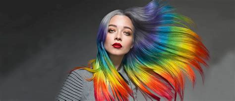 mesmerizing hidden rainbow hair lovehairstylescom