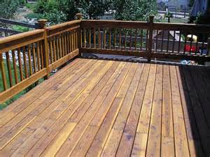 Choosing Deck Stain Color