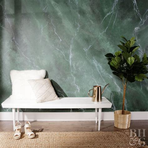 How To Paint A Marbleinspired Wall