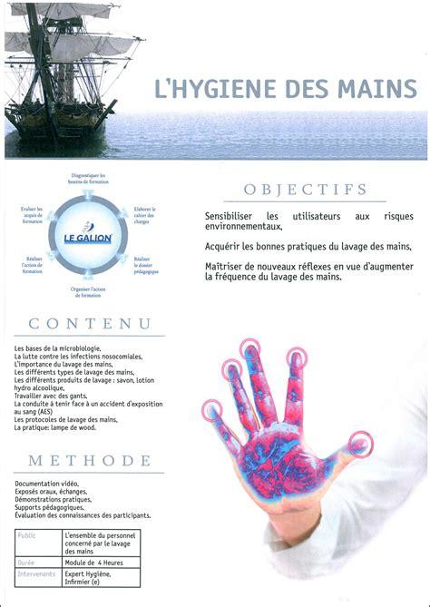 protocole de lavage des mains en cuisine en ehpad le galion formation