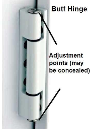 fix door sticking rubbing jamming  squeaks