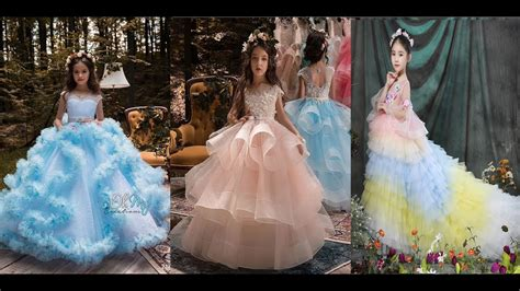 250 The Most Beautiful Party Wear Kids Frocks Designs