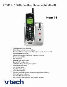 Download Free Pdf For Vtech Cs5111 Telephone Manual