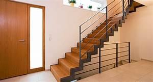 Geländer Für Treppe : treppe gel nder stufen treppenbauer holz design in dreieich ~ Markanthonyermac.com Haus und Dekorationen