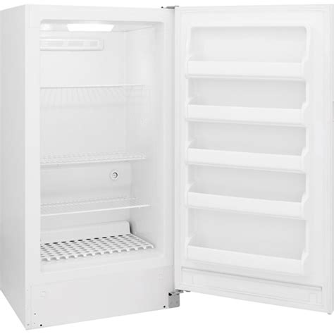 frigidaire fffhfrw  cuft upright freezer
