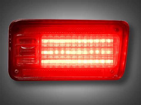 chevy chevelle led tail light panels  design