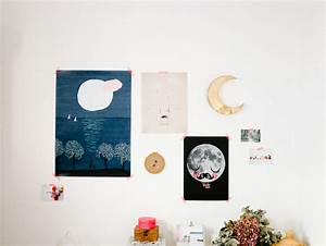 ma chambre avec l39affiche moderne concours inside With affiche chambre bébé avec montre fleurie