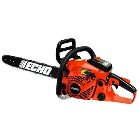 home depot cs echo 18 in 40 2 cc gas chainsaw cs 400 18 the home depot