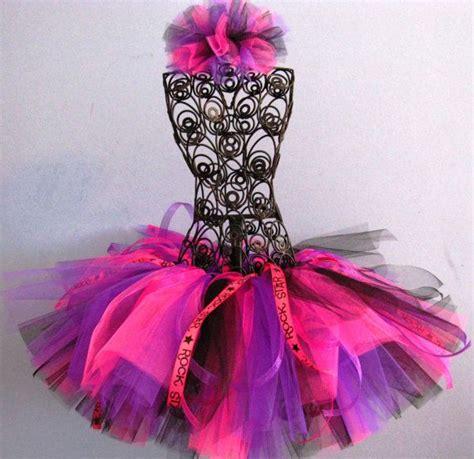 rock tutu pink birthday tutu tutu black purple tutu fast shipping