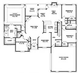 4 bed house plans 653964 two story 4 bedroom 3 bath country style