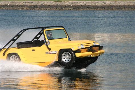 Watercar Gator  The Worlds First Amphibious Jeep