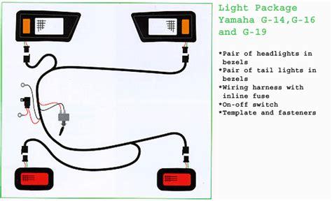golf cart headlight wiring 26 wiring diagram images