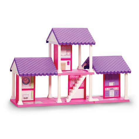 fashion doll  room dollhouse american plastic toys