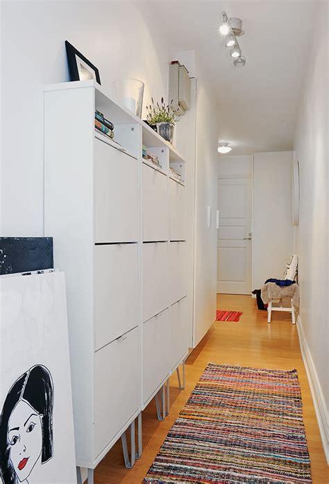 narrow cabinets for hallway storage for a long narrow hallway are these ikea shoe cabinets entrance pinterest