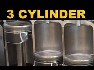 Inline 3 Cylinder Engine - Explained
