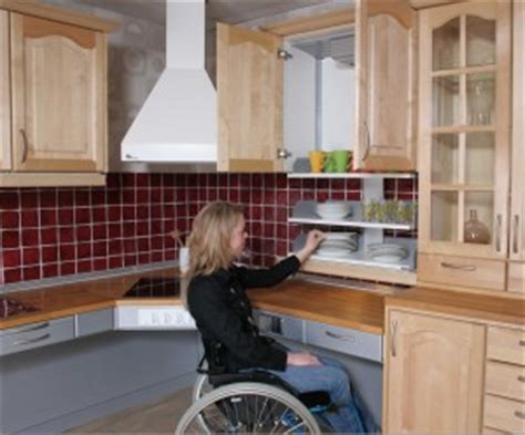 wheelchair accessible kitchen design handicap home modifications in 1244