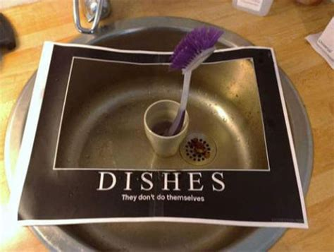 Dishes Meme - roommates