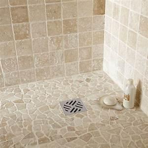 pvc pour salle de bain 13 galets sol et mur opus ivoire With mur pvc salle de bain