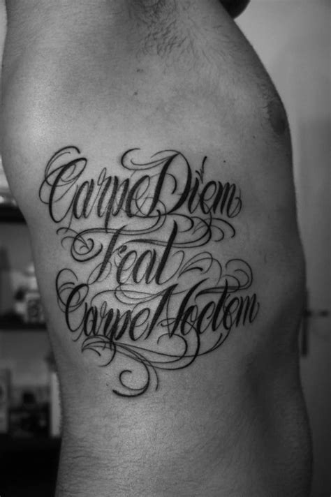 125+ Carpe Diem Tattoo Ideas to Help You Seize the Day