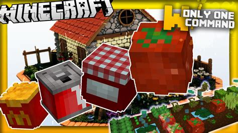 mod鑞es cuisines minecraft more food mod in vanilla minecraft 1 9 in two commands 10 edible recipes