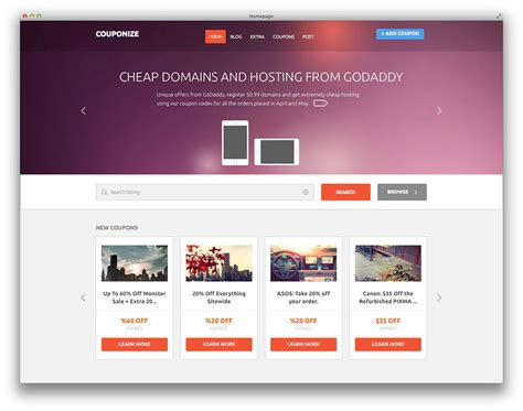 Website Themes Best Free And Premium Daily Deal Themes And