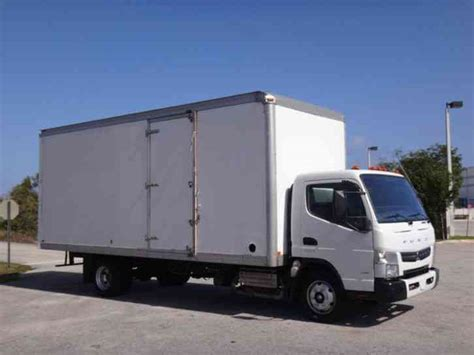 Mitsubishi Box Trucks by Mitsubishi Fuso Fe160 Box Truck 2013 Box Trucks
