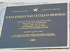 Korean War Veterans Lone Star Chapter