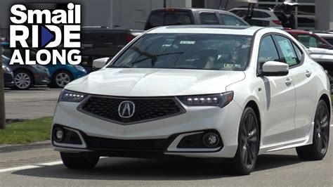 2018 acura tlx a spec review and test drive smail ride