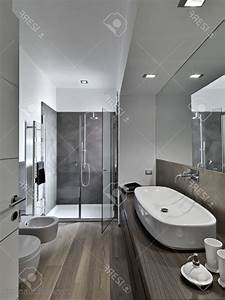 peinture salle a manger moderne With salle de bain moderne douche italienne