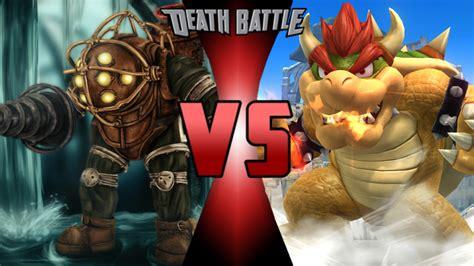 Image Big Daddy Vs Bowser Remasteredpng Death Battle