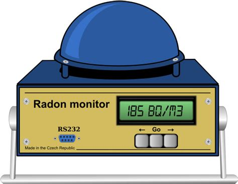 Continuous Radon Monitor - Icon Clipart - Full Size ...