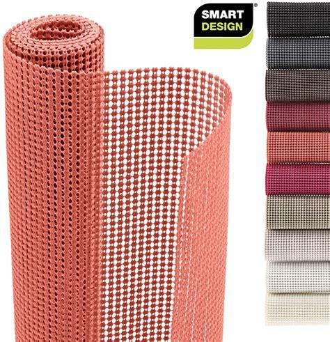 smart design shelf liner classic grip 12 inch x 10