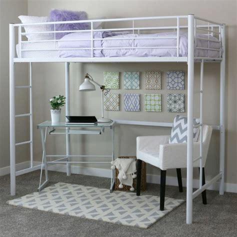 lit en hauteur avec bureau lit mezzanine enfant avec bureau uteyo