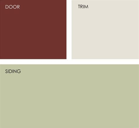 possible exterior paint color scheme behr red pepper