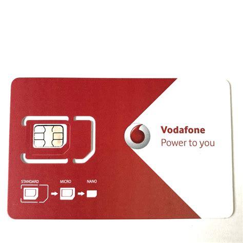 vodafone mm sim card gb   star