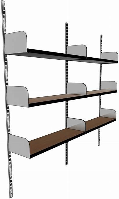 Wall Shelving Adjustable Units System Steel Shelf