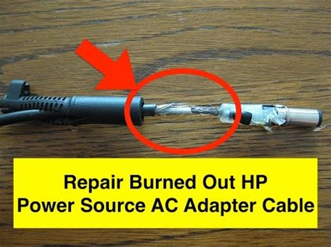 Min Repair Burned Out Power Source Adapter Youtube