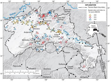 u home interior water quality in the tanana river basin alaska water