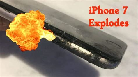 exploding iphone battery yet another iphone 7 just exploded in australia reports 3506