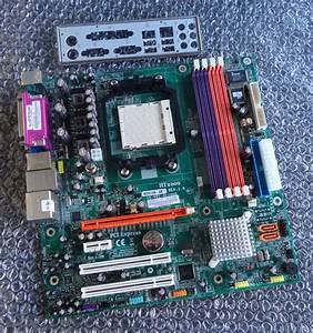 Acer Aspire T180 Socket Am2 Motherboard  U0026 Back Plate