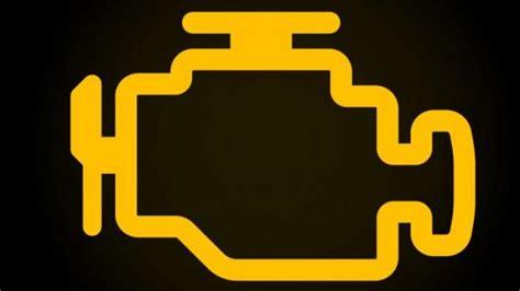 engine management light top    amber engine