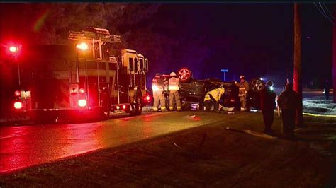 Man sent to hospital after truck rolls over in Mahoning ...
