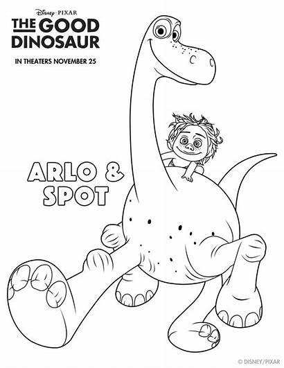 Coloring Dinosaur Sheets Fun Pages Dino