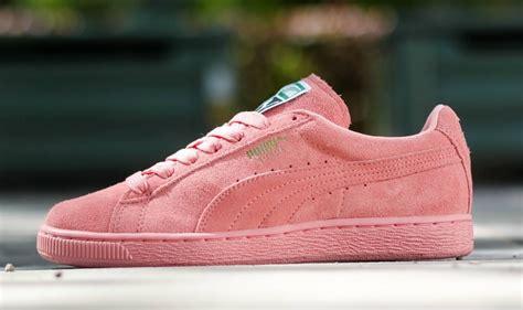 light pink puma shoes puma suede classic easter pack sneakers madame