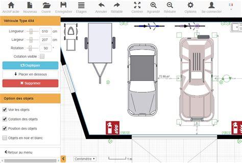 chambre de peinture automobile plan de garage avec archifacile